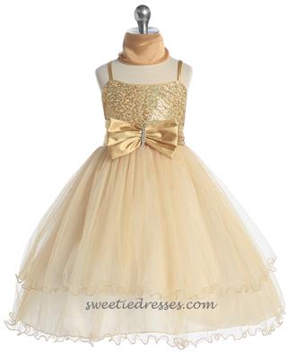 Spaghetti sparkle tulle layer girl dress