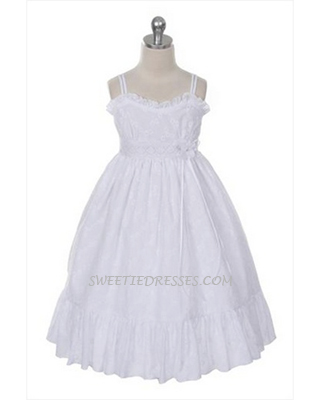 Casual girl's cotton sundress