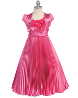 eafbb16a498 Flower Girl Dresses by Color - Pink   Fuchsia Dresses at Sweety Dresses