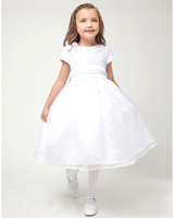 Cap Sleeve Flower Girl Dresses at Sweety Dresses