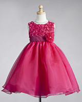 Flower Girl Dresses by Color - Pink & Fuchsia Dresses at Sweety ...